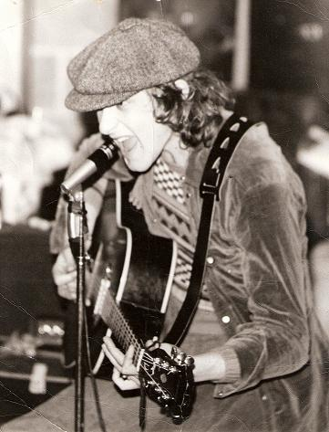 Rehearsals at Mitch Mitchell`s, 1972.