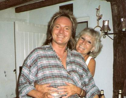 Steve Marriott. (with Mum Kay). Great Singer, Songwriter and Guitarist