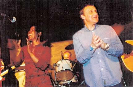 P. P. Arnold with Steve
