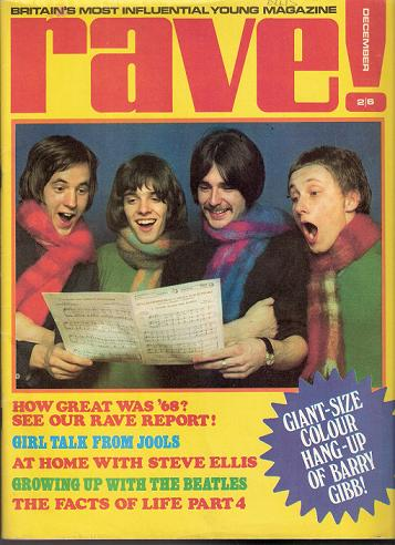 Rave! 1969 Christmas Edition.. Fairweather, Frampton, Rossi & Steve.