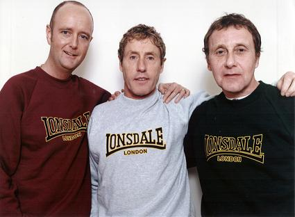 The Lonsdale Trio! Dean Powell, Roger Daltrey and me!