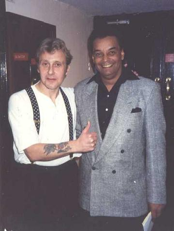 Garry U. S. Bonds. Great Singer.. Backstage Albert Hall.