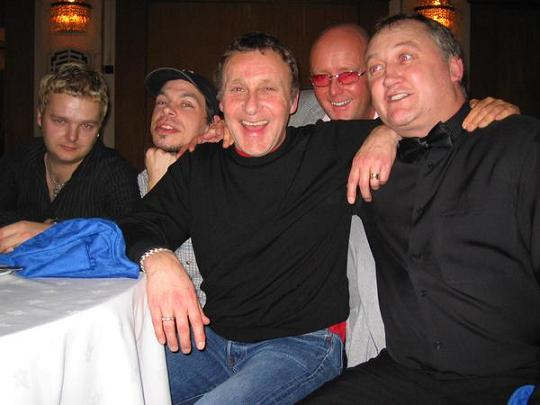 Dylan, Dan, Steve, Dean & Eugene Maloney.. London Boxing Show.