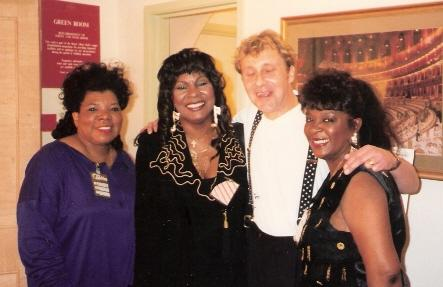 Steve with Martha Reeves and the Vandellas