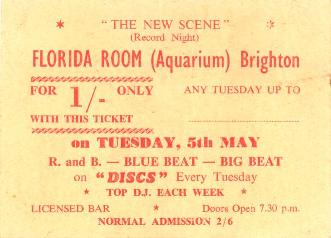 Ticket for Florida Rooms