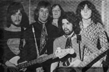 Gus Yeadon (2nd from left). Sad news - Gus recently passed away. Gus joined Lova Affair. after Steve left at Christmas 1969, at which point the band changed it`s name to LA.. The band would split up a year later.