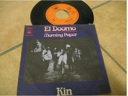 Kin - El Doomo Rarest record sleeve, found by our friend Sven Gusevik